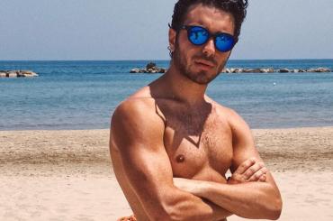 Gianluca Ginoble de  Il Volo in stile BAYWATCH su Instagram – foto