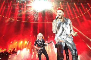 TwoFux, il nuovo singolo di  Adam Lambert  con i QUEEN – video