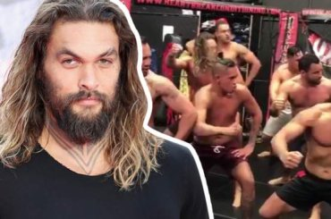 Jason Momoa, è Sexy Haka – video