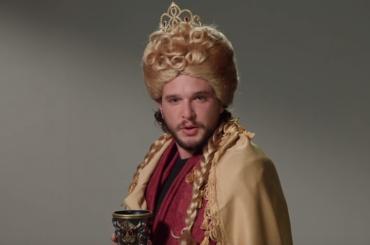 Game of Thrones, Kit Harington diventa Cersei, Daenerys e non solo da Jimmy Kimmel – video