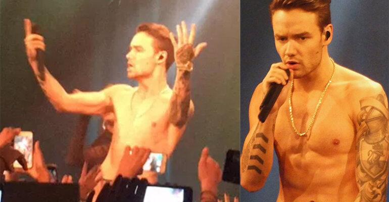 Liam Payne, strip sul palco e fan in delirio – i video