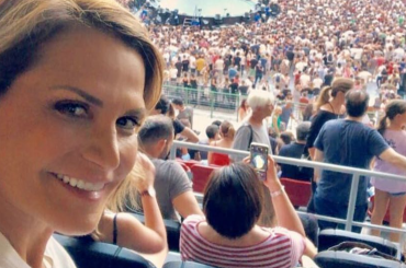 Simona Ventura canta i COLDPLAY – video