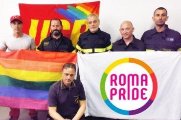 Roma Pride, vigile del fuoco sottoposto a procedimento disciplinare per averne preso parte indossando l'uniforme