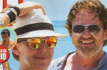 Barbara D'Urso fa coppia con Gerard Butler?