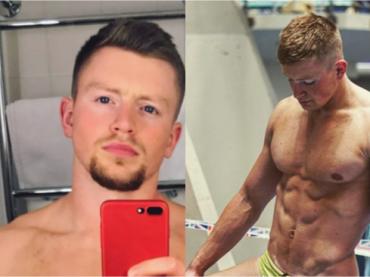 Adam Peaty, pacco Instagram per il nuotatore inglese