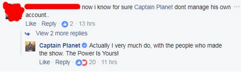 Captain Planet Facebook 4