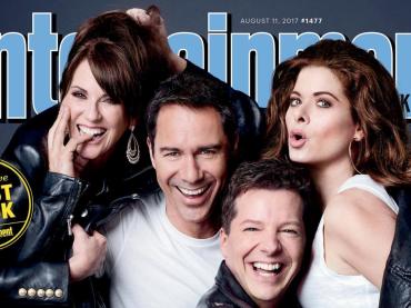 Will and Grace, la nuova stagione sulla cover Entertainment Weekly, le foto
