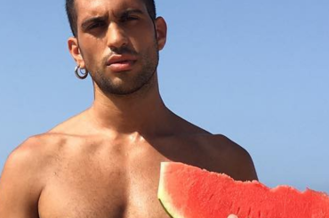 Mahmood, è slippino Instagram – foto
