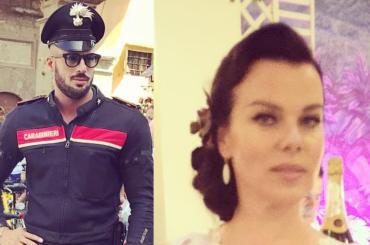 Debi Mazar di Younger invaghita dal (pacco del) carabiniere fiorentino, la foto Instagram