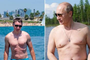 #PutinShirtlessChallenge, tutti mezzi nudi per scimmiottare il presidente Vladimir – gallery