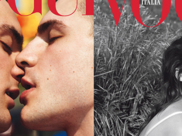 Vogue Italia, prima storica cover con baci LGBT per il September Issue