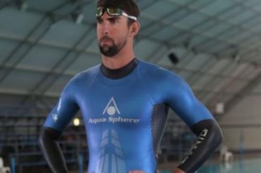 Michael Phelps, è pacco con pinna per  Discovery Channel – foto