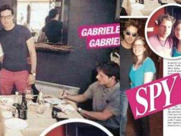 Gabriel Garko e Gabriele Rossi, arriva l'outing di SPY?
