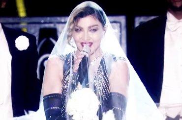 Rebel Heart Tour, Madonna lancia la clip di Material Girl estratta dal dvd – video