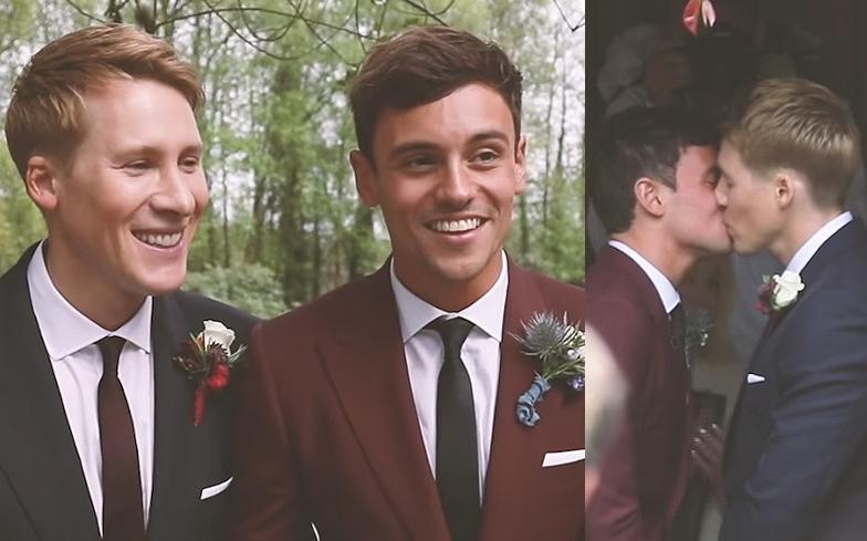 tom-daley-dustin-lance-black-wedding-video