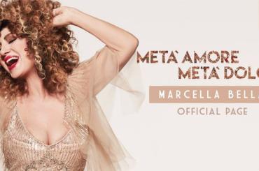 Metà amore Metà dolore, la cover del nuovo disco di Marcella Bella