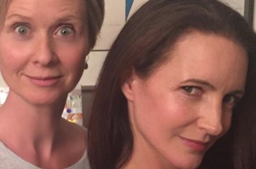 Sex and the City, mini reunion per Cynthia Nixon e Kristin Davis – foto