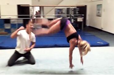 Britney Spears versione GINNASTA punta le Olimpiadi del 2028 – il video