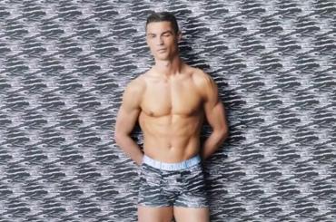 Cristiano Ronaldo, nuova collezione in mutande – foto