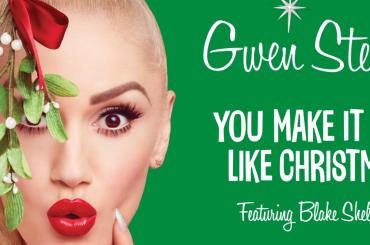 You Make It Feel Like Christmas, ecco l'inedito natalizio di Gwen Stefani feat. Blake Shelton – audio