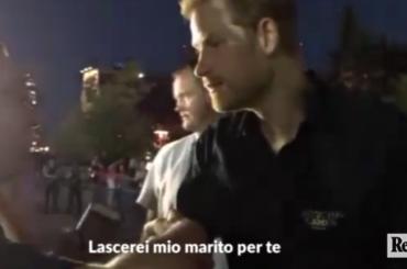 'Harry, lascerei mio marito per te', la proposta del dj al principe – video