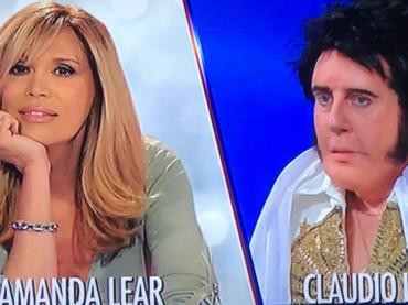 Tale e Quale Show, Claudio Lippi sarà Amanda Lear e Platinette sarà Iva Zanicchi – video