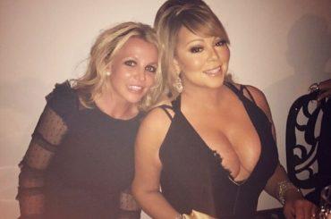 Britney Spears e Mariah Carey insieme, la foto che fa impazzire i fan