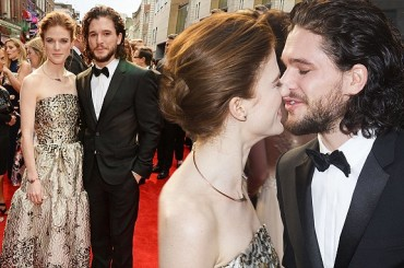 Game of Thrones, Kit Harington sposa Rose Leslie