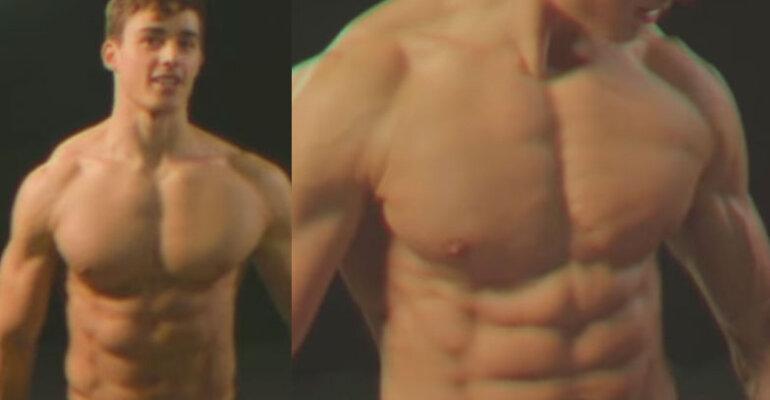 Pietro Boselli, allenamento fisico in stile anni '80 – il nuovo video