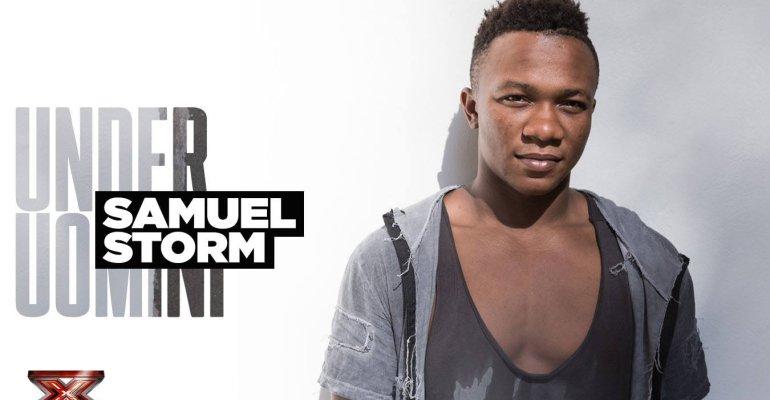 X-Factor, Samuel Storm mostra il fisico sui social