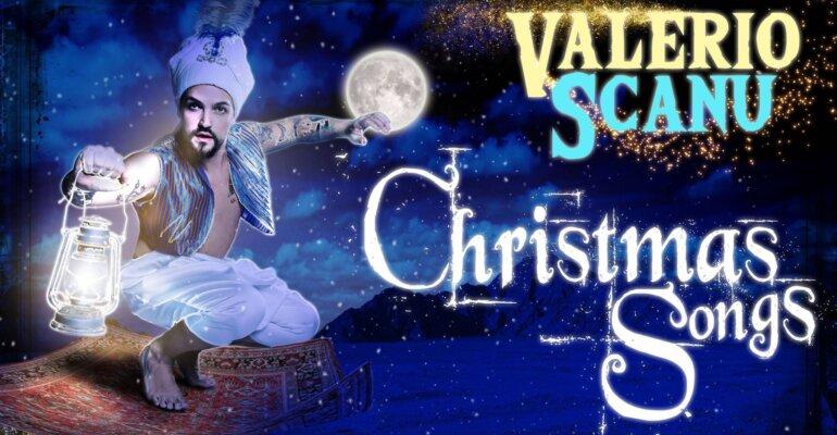Valerio Scanu versione Aladdin per il concerto di Natale, il poster
