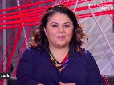 Michela Murgia a TvTalk: 'almeno 4 conduttori italiani molestatori come Harvey Weinstein'