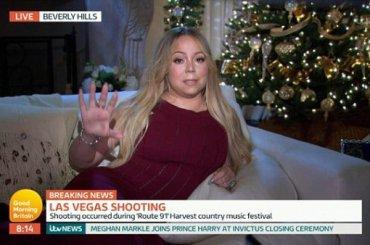 Las Vegas, strage ad un concerto: Mariah Carey sconvolta in diretta – il video