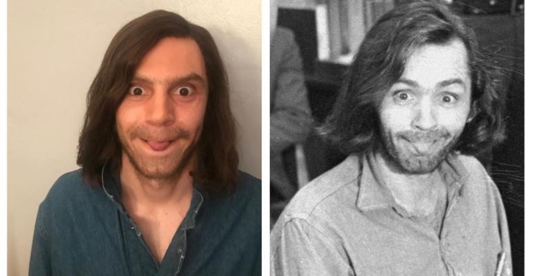 American Horror Story: Cult, Evan Peters è Charles Manson – foto