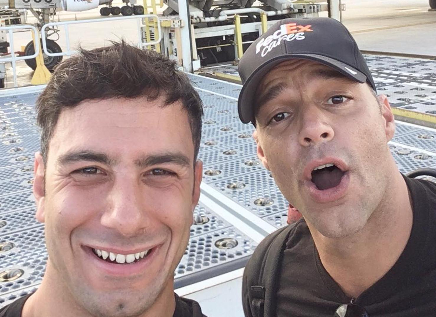 Ricky Martin, selfie in boxer su Instagram - foto