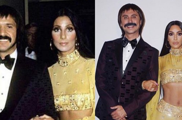 Halloween Vip 2017, Kim Kardashian e Jonathan Cheban mascherati da Sonny e Cher – foto