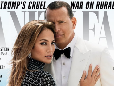 Jennifer Lopez e Alex Rodriguez, prima cover di coppia per Vanity Fair