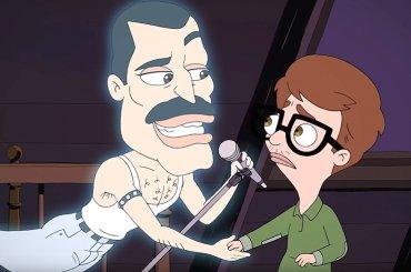 Big Mouth, l'epica scena in cui Freddie Mercury canta le meraviglie dell'omosessualità – video