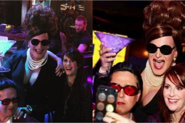 Will and Grace,  Megan Mullally e l'epico selfie con Karen e Rosario versione DRAG QUEEN – foto