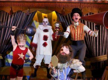 Halloween Vip 2017 – Neil Patrick Harris, David Burtka e figli in versione FREAK SHOW – la foto