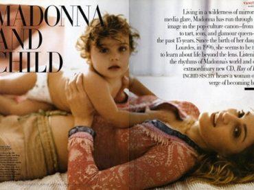 Madonna e Lourdes Maria ricreano foto del 1998 , il confronto 20 anni dopo