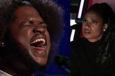 """The Voice USA, concorrente canta """"I Am Changing"""" da Dreamgirls davanti a Jennifer Hudson – video"""