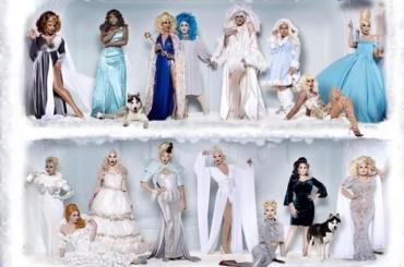 "Christmas Queens, le drag di Ru Paul cantano ""Let It Snow"" – il video ufficiale"