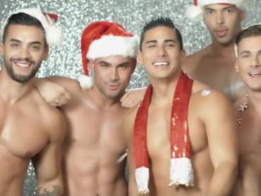 All I Want For Christmas Is You di Mariah Carey,  arriva la versione hot con i bonazzi di Andrew Christian – video