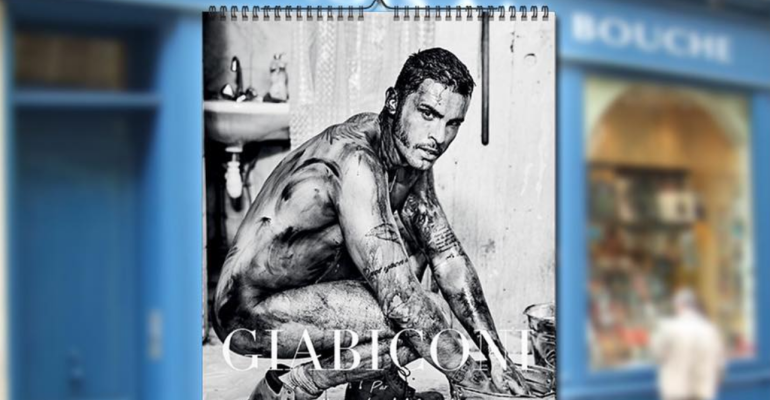 Baptiste Giabiconi nudo per il calendario 2018, le foto