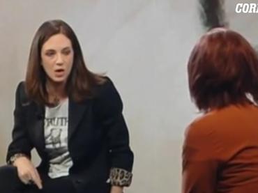 Asia Argento vs. Vladimir Luxuria , 'non puoi difendere le minoranze LGBT e non stare dalla parte delle donne, vergognati' – video