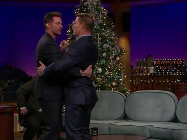 Hugh Jackman balla con John Cena da James Corden – video