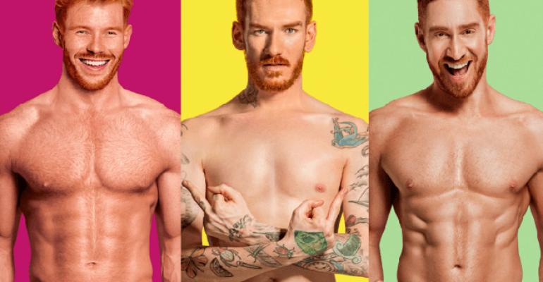 Red Hot C*cks, tutti nudi per il calendario 2018 – foto