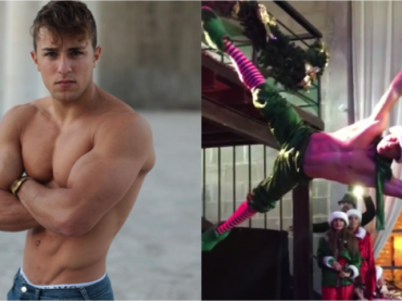 "Domenico Vaccaro, pole dance sulle note di ""All I Want For Christmas Is You"" – il video"