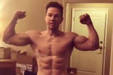 Mark Wahlberg sempre più palestrato Instagram, i video